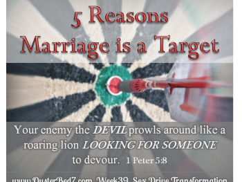 5 Reasons Satan Targets Marriage