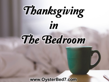 Thanksgiving in the Bedroom