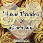 Divine Paradox of Generosity