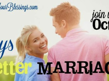 31 Days to a Better Marriage is Out!