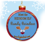 Meet the Bedroom Elf:  Randy Reindear