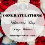 2016 Valentine's Winner is….