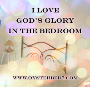Glory in Bedroom