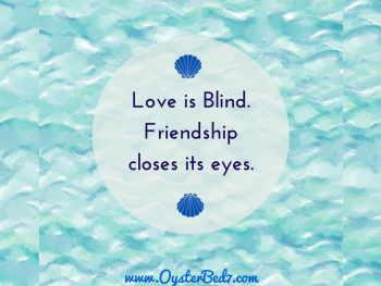 "I Love ""Friendship Closes Its Eyes"""