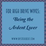 Being the Ardent Lover