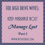A Look at Lust:  Reproductive Cycles, Lack, Pheromones, and Temptation