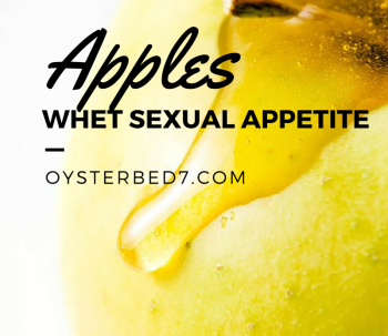 Apples Whet Sexual Appetite