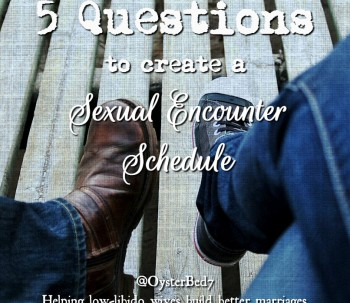 5 Questions to Create a Sexual Encounter Schedule