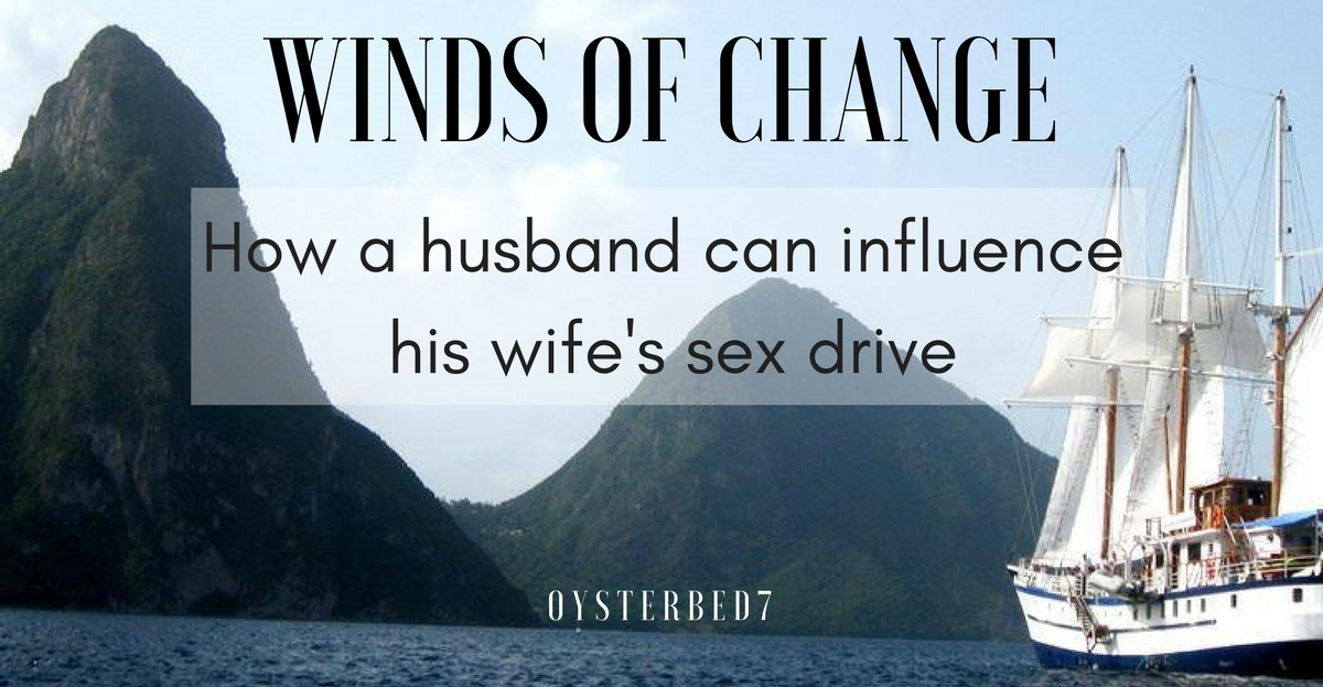 How a husband can influence his wife's low sex drive, written by a low sex drive Christian wife.