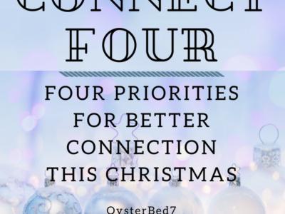 Pare Christmas Down to Four Priorities