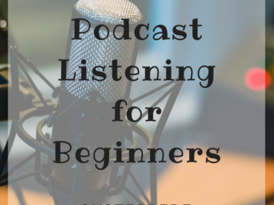 Podcast Listening for Beginners and a Giveaway!